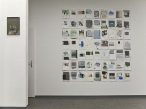 Ausstellungssituation Kleinformate