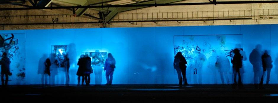 Ausstellungssitualtion Nico Heimann,