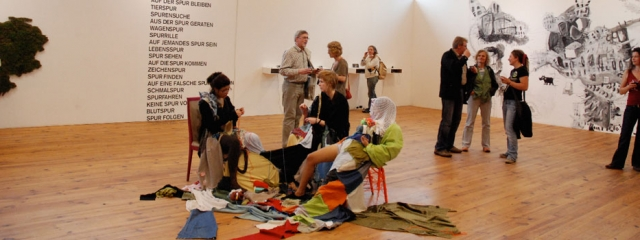 Ausstellungssituation Kunsthalle Faust, Hannover, Klasse Prof. Michael Dörner