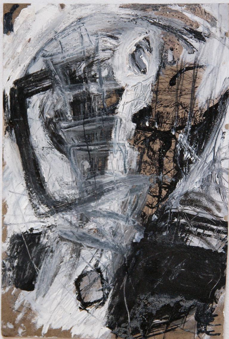 o.T. 2012, Mischtechnik auf Papier, 29,5 x 21cm