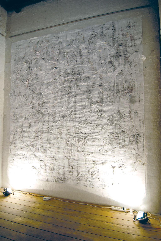 Franziska Hapke, 2012, Wand