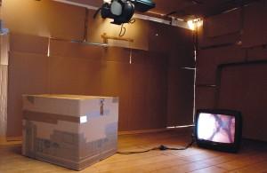 Tumzimmer Innenraum, Kunstverein Rotenburg, 2012
