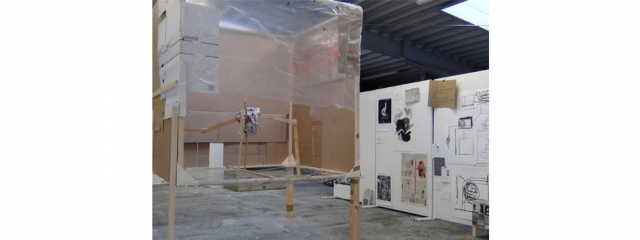Kerstin H. Müller - Ateliersituation