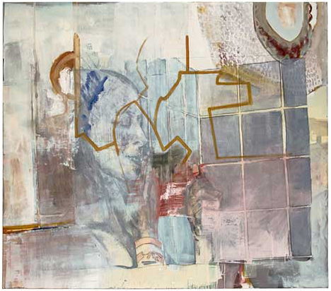 Sophia Juergens, Malerei, Ohne Titel, 2016, Öl auf Leinwand, 170 x 150 cm