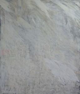 """White"", 170x200cm, Eitempera auf Leinwand, 2015"