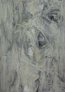 """""""Ballett"""", 100x140cm, Eitempera auf Karton, 2015"""