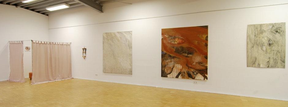 Header Hochschule HKS Ausstellungssituation Johanna Blank & Viktoriya Reiter