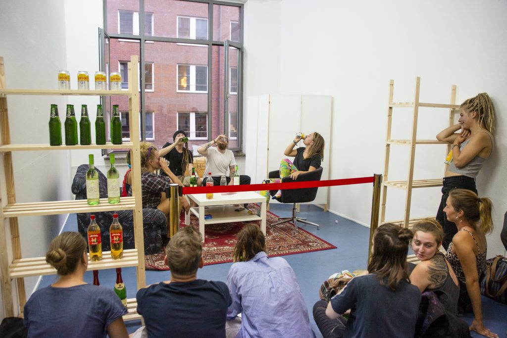 """Performance """"Durchlauf"""" - Steffen Gehrdau ©Wenke Wollschläger"""