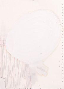 fly, 2018, Mischtechnik auf Papier, DIN A3 neu
